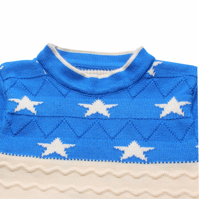 Star Kids Sweaters Cotton Infant Clothes Pullover Print Outfit O Neck Knit Top Autumn Winter Baby Boys Sweater Children Clothing (4)