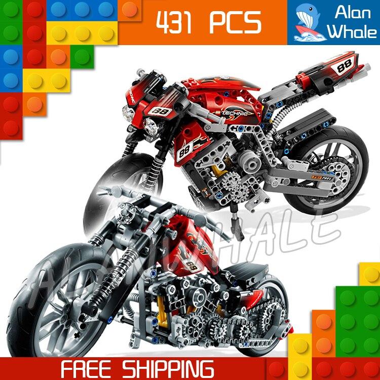 431 Piezas Technic Moto Calle Motocicleta 3353 Bloques De Construcción De Figura Volante Delantero Juguete Compatible Con Legoing Un Enriquecimiento Y Nutriente Para El HíGado Y El RiñóN