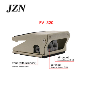 Image 5 - Pneumatic foot valve foot switch FV320 two position four or five through FV420 cylinder reversing controller blow dust valve