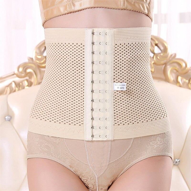 c6facc02a0 Postpartum Girdle Slimming Belt Body Shaper Corset Waist Trainer Control  Slip Underwear Modeling Strap Sexy Women Intimates 6864-in Waist Cinchers  from ...