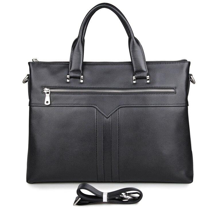 J.M.D100% Genuine Leather Fashion Laptop Bag Hand Business Bag Mens Briefcase 7330AJ.M.D100% Genuine Leather Fashion Laptop Bag Hand Business Bag Mens Briefcase 7330A