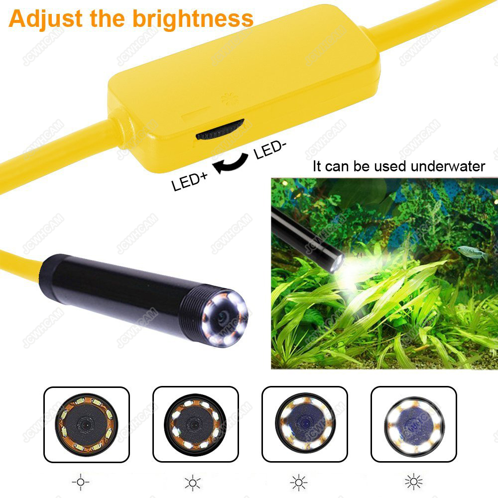 HD 1200P Waterdichte WIFI Inspectie Mini endoscoop camera Borescope - Camera en foto - Foto 3