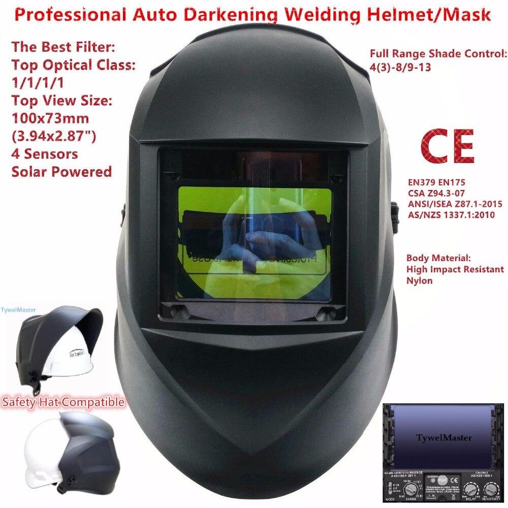 Máscara de Soldadura superior tamaño 100x73mm (3.94x2.87 \