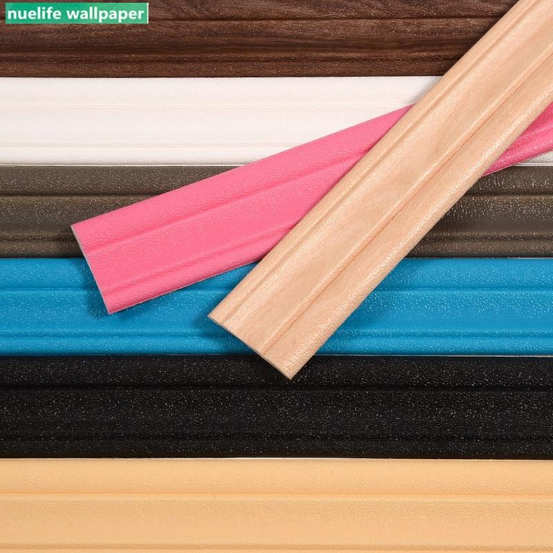 3d wall sticker foam edge waist line ceiling TV sofa background waterproof baseboard