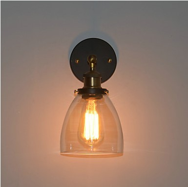 ФОТО 60w Retro Loft Style Industrial Vintage Wall Lamp Light For Home Edison Wall Sconce