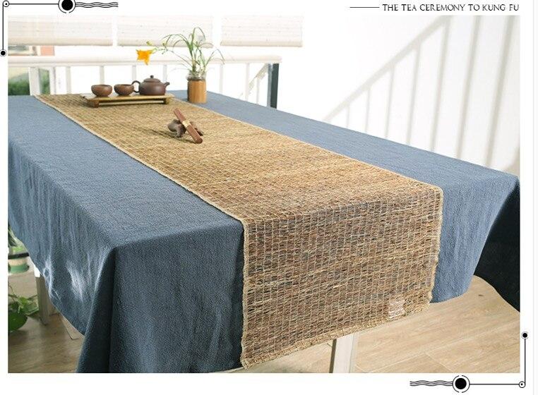 Table Runners / Iinen Tea Seat Dining Table / Modern Chinese Hemp Flag /  Southeast Asian