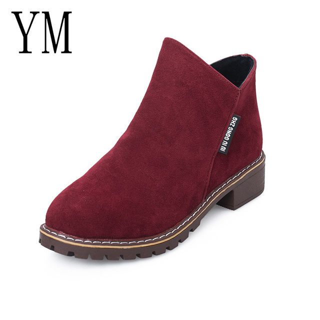 2018 Flock New High Heel Lady Casual black/Red Women Sneakers Leisure Platform Shoes Breathable Height Increasing Shoes 16