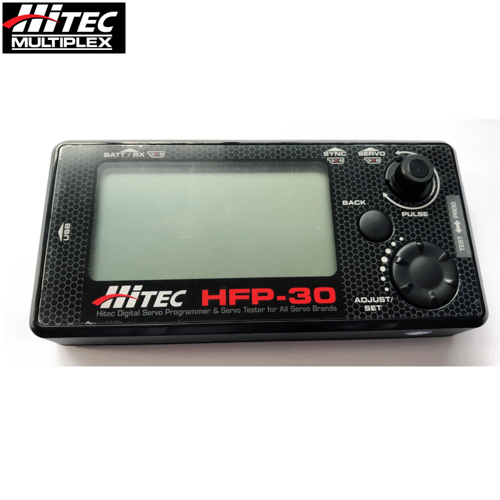 Original Hitec HFP-30 Digital Servo Programmer & Servo Tester for All Servo Brands upgrade HFP-25 for original 6487180 servo i servo s battery module