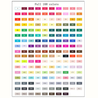 TOUCHNEW Art Marker 168 Colors Alcoholic Copic Marker Artist Sketch Marker Stabilo Best For Drawing Manga