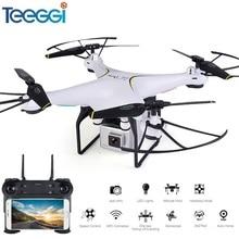 Teeggi SG600 FPV Quadcopter Zangão RC Com Câmera de 2MP ou 0.3MP HD Altitude Hold Quadrocopter Helicóptero VS Eachine E58 Dron