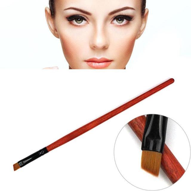 1 unid nuevo maquillaje cepillo de cejas cepillo de sombra de herramienta de belleza herramienta de maquillaje Mujer Pro cosméticos envío gratis