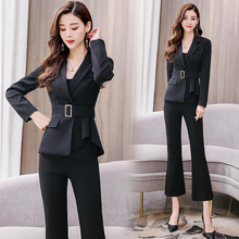 YASUGUOJI new 2019 spring business suits ladies womens suits