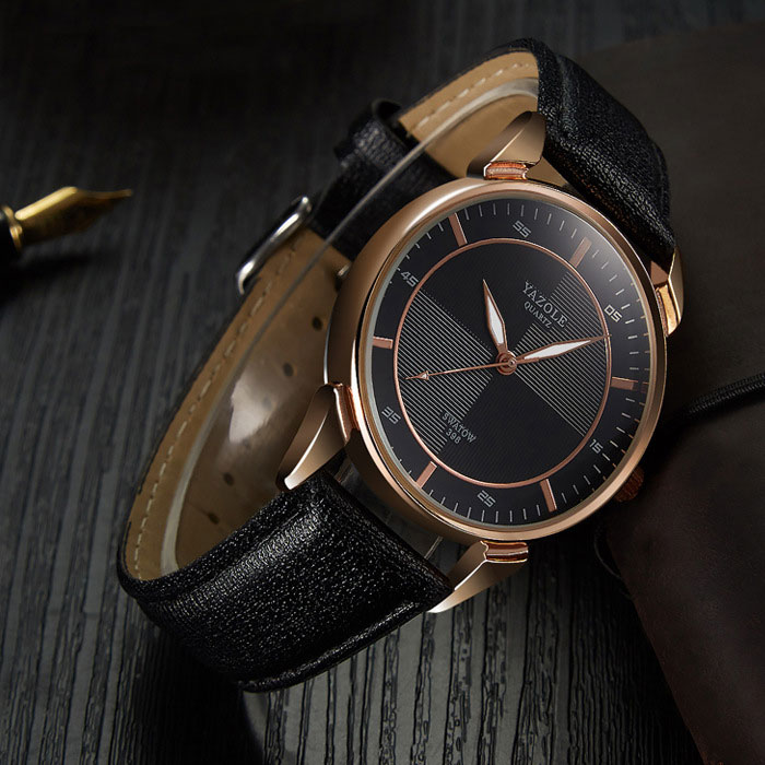 YYAZOLE Business New Wrist Watch Men Watches Top Brand Luxury Famous Male Clock Quartz Wristwatch For Men Hour Relogio Masculino Karachi