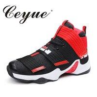 Ceyue Plus Size 45 New Giày Bóng Rổ Nam Thoải Mái Cao Top Đàn Ông Giày James Thể Thao Ngoài Trời Giày Người Đàn Ông Đào Tạo Athletic Shoes giày