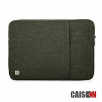 CAISON Water Resistant Notebook Army Green Bag Pouch Case For Macbook Air 11 12 13 15