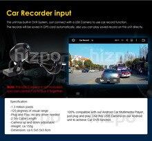 Монитор автомобиля usb автомобильный видеорегистратор цифровой видеомагнитофон USB на передней панели камеры HD CMOS для Android 7.1 Android 6.0 Android 5.1 автомобильный dvd плееры
