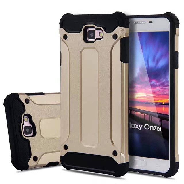new concept 08e68 99db7 US $5.88 |For J7 Prime/On72016 Armor Case Various Hybrid Silicon Shockproof  Phone Case For Samsung Galaxy G6100 Tank Armor Cover HU1262 on ...