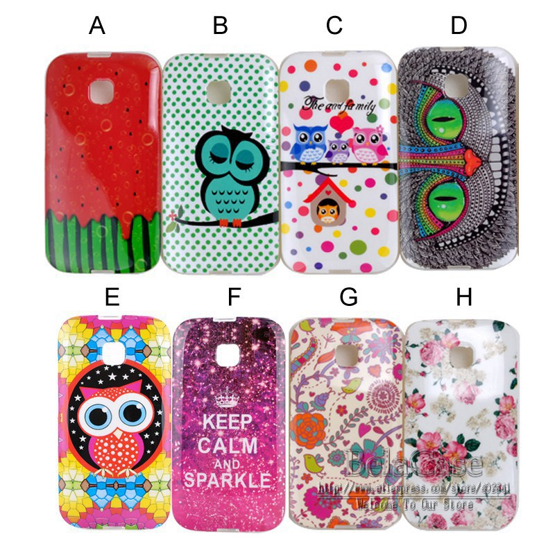 new concept 81502 a4b84 US $3.17 |Soft Tpu Mobile Phone Cases For Motorola Moto E XT1021 XT1022  Cartoon Owls Watermelon Style Back Cover Skin Mobile Phone Bags on ...