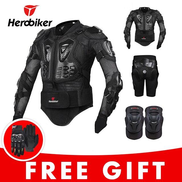 1677c742964 Chaqueta de la motocicleta en protección armadura Moto Motocross equipo de  carreras de armadura de cuerpo