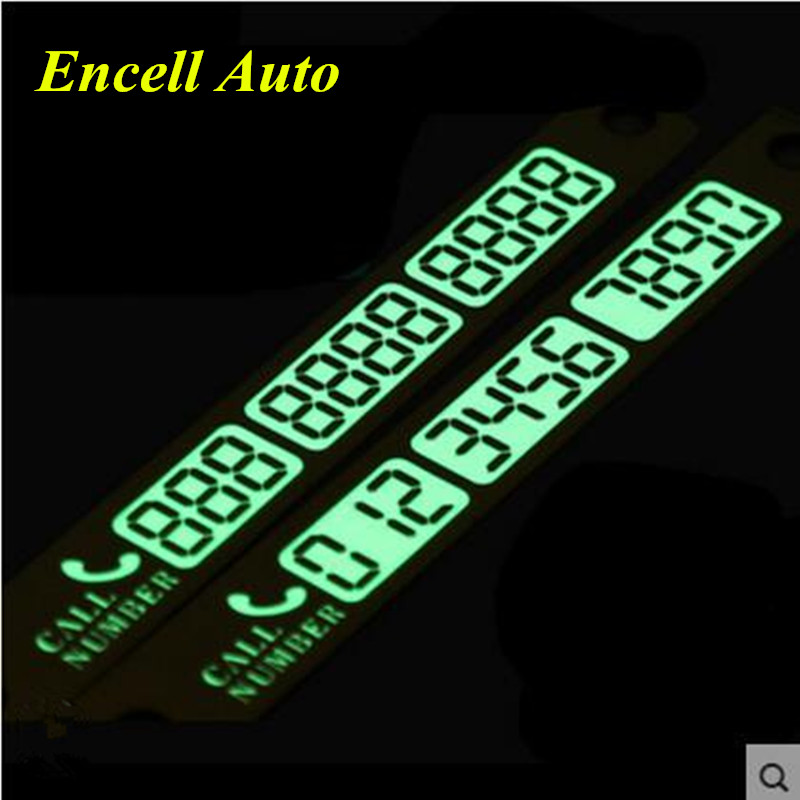 Luminous car styling phone number card for kia sportage r for Kia motors customer service number