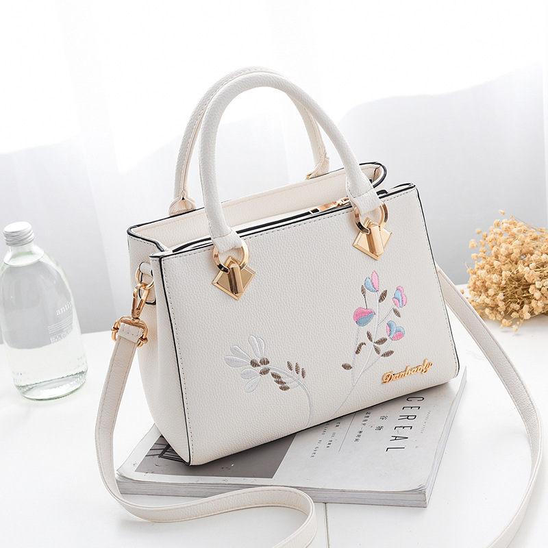 Women Bag Vintage Casual Tote Fashion Women Messenger Bags Top-Handle Shoulder student Handbag Purse Wallet 2019 New Black Blue