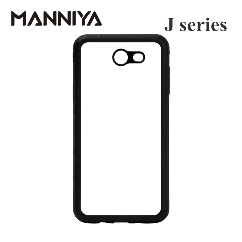 MANNIYA Blank Sublimation TPU Case for Samsung Galaxy J3 J4 J5 J6 J7 J8 ալյումինե ներդիրներով 10 հատ / լոտ