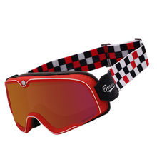 BYE Motorcycle Glasses Helmet Goggles Pilot Aviator Retro Vintage Riding Eyewear Steampunk Motocross for Men Women