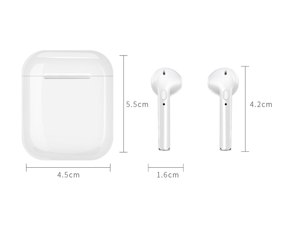 IFANS Mini i9s Twins Earbuds Mini Wireless Bluetooth Earphones i7s TWS Air Headsets Pods Stereo Headphones For IPhone Android PC (12)