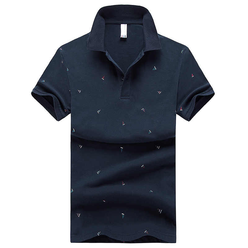 Men Polo Shirt Summer Casual Cotton Shirts Mens V Neck Korean Style Short Sleeve Poloshirt Man Fashion Solid Business Polos 3XL