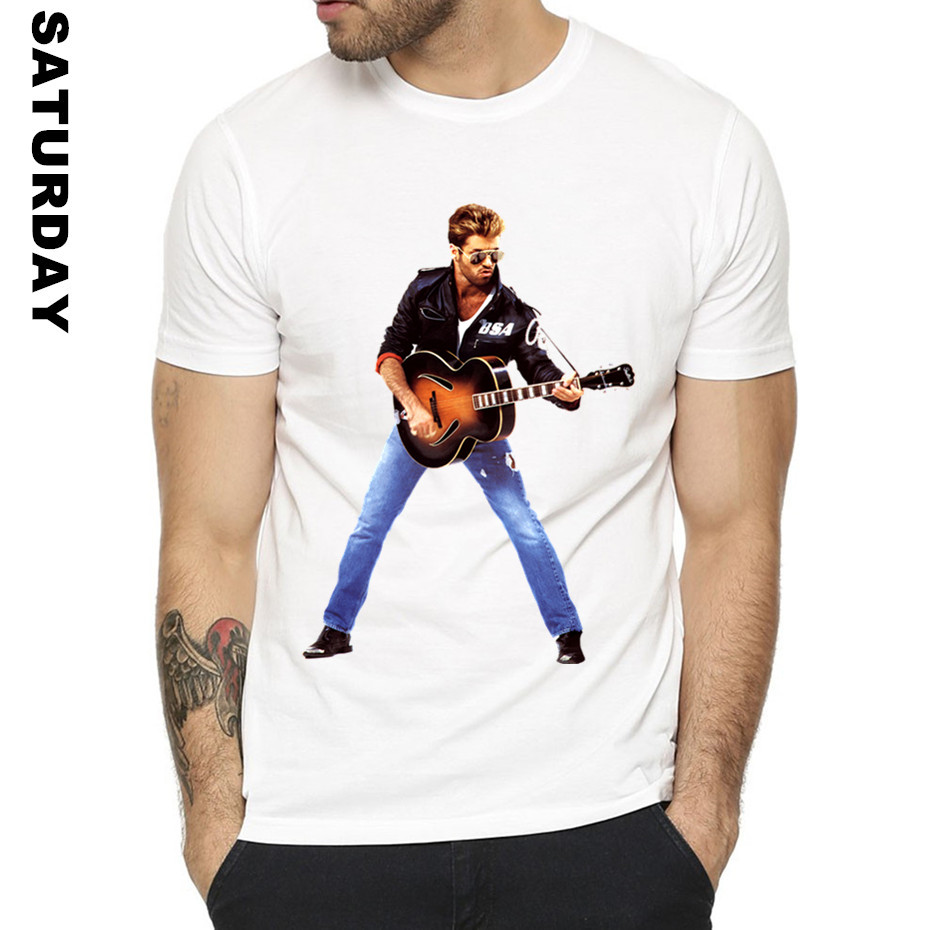 Hipster George Michael Choose Life Design Funny   T     Shirt   for Men and Women,Unisex Comfortable Breathable   T  -  Shirt   Men's Streewear