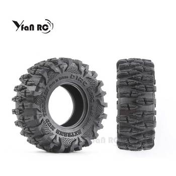Yfan RC 4PCS D1RC 1/10 1.9 Inch Wheel Tires RC Crawler Car Parts External Diameter 108mm for AXIAL scx10 Free shipping