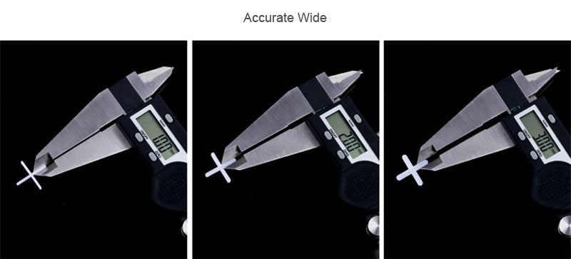 """Espaçadores da telha Cruz 1mm 1/32 """"10000 pcs Espaçadores de Parede e Piso de Cerâmica Telha de Metrô Espaçamento Alinhamento Postura de Ferramentas Peças TUSRAI"""