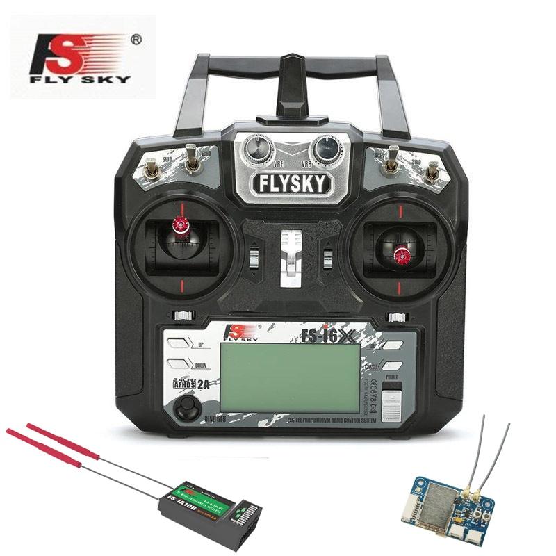 Date 10 CH FlySky FS-I6X + IA10B/X6B I-BUS Récepteur 2.4Hz AFHDS 2A RC Émetteur À Distance controll Pour hélicoptère rc Pro