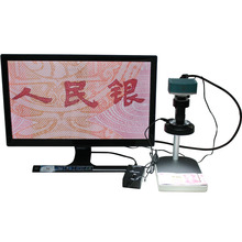 Wholesale 1080P 60fps HDMI Industrial Microscope Camera W/USB,SD Card Storage & Mouse Action+3X-100X Optical C-mount Lens+LED+Holder