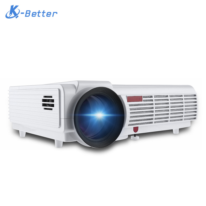 5000lumens 3d home projector support 1920 1080pixels video for Projector tv reviews
