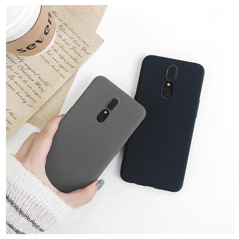 رقيقة جدا وبسيطة عادي ماتي جراب هاتف ل OPPO F11 سيليكون مضاد للخبط لينة الغطاء الواقي ل OPPO F11 برو