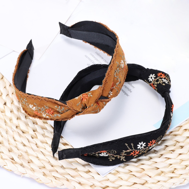 9 embroidery hairbands