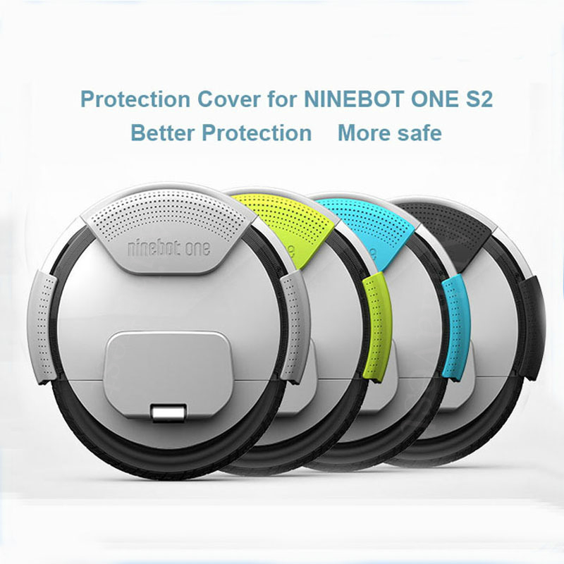 Scooter Rubber Protective Cover for Ninebot One S2 A1 Unicycle Scooter  Protective Gear Soft Original