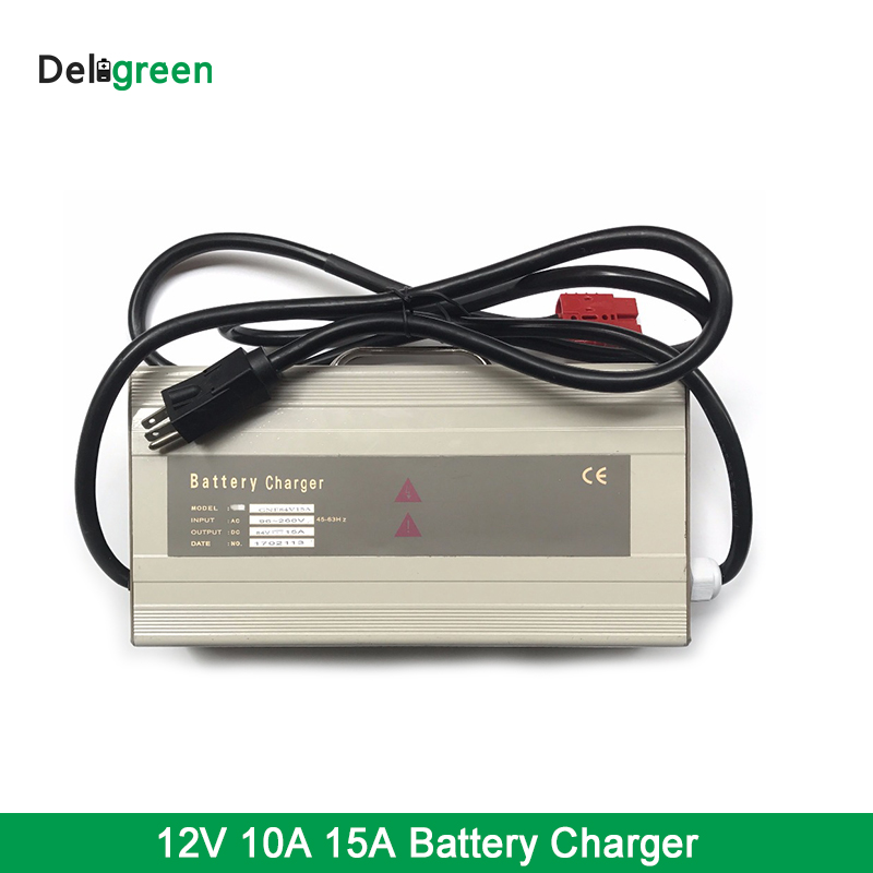Electric Motorcycle ,Scooter Battery charger 12V10A Customized Factory Price LTO Battery Charger 12V15A