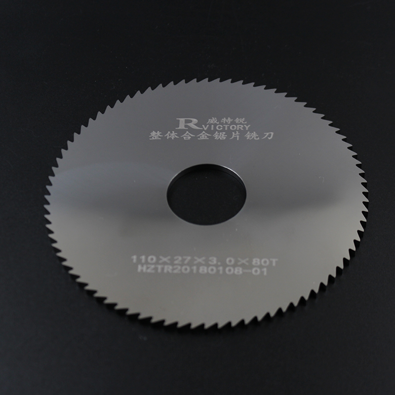 2pcs 110*1.9-110*3 circular slitting Saw blade 110mm out dia milling cutter china manufacturing circle cutter blade for cutting rubber circular slitting machine blades