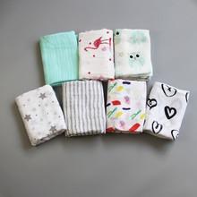 100% Bamboevezel Baby Inbakeren Zachte Pasgeboren Dekens Zuigeling Wrap Inbakeren Manta Miracle Baby Badhanddoek Baby Mousseline Bamboe Wrap