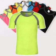 Высокое качество! Прямые продажи с фабрики! Недорогая! Рубашка для бадминтона, дышащая Мужская Женская теннисная футболка для игры в пинг-понг