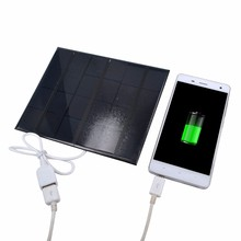 3.5W 6V Polycrystalline Solar Cells Solar Panels Solar Module DIY Solar System Battery Charging for Phone Tablet USB Multimedia