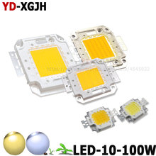 10 W 20 W 30 W 50 W 100 W High Power LED COB Chip SMD Luz Para Branco Quente /Pure White DIY 10 20 30 50 100 W Watt Ao Ar Livre CONDUZIU Foodlight