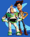 HOT SALE 2PCS/SET ORIGINAL TOY STORY 3 BUZZ LIGHTYEAR +SHERIFF WOODY HIGH QUALITY PVC ACTION FIGURE TOYS CLASSIC TOYS