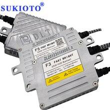 SUKIOTO воспламенитель ксенон ДЛТ балласт 55 Вт F5T 35 Вт F3T 70 Вт F7T ДЛТ Ксеноновые блоки зажигания блок балласт для ксенонового комплекта H11 Yeaky H7