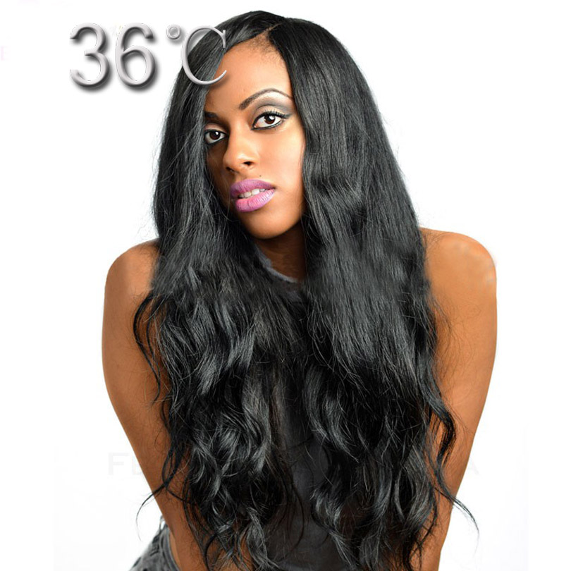 Natural Side Part Lace Front Wig Loose Wave Glueless Full
