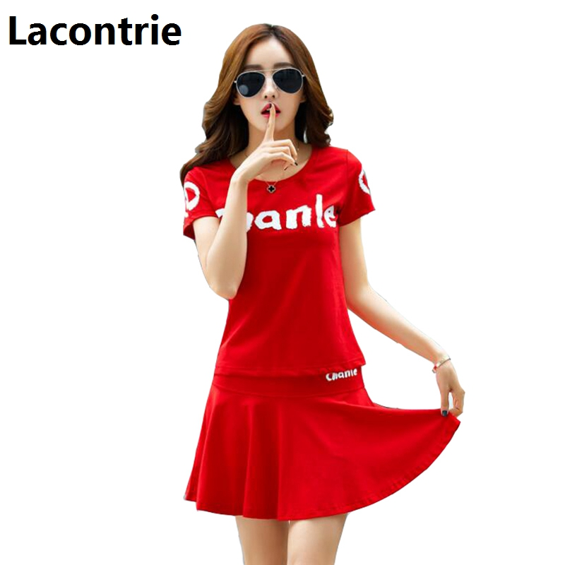 Plus Size 5XL Summer Women Sets Sporting Suit Fashion Letter Printed Short Sleeved T shi ...