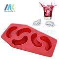 3 Pcs Dental gift Vampire teeth ice lattice creative ice mold terrorist creative ice box for Summer Clinic drink Free Shipping