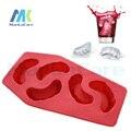 3 Unids enrejado creativo del hielo del Vampiro dientes Dental regalo molde caja de hielo creativa del terrorismo para Clínica de bebida de Verano Envío gratis